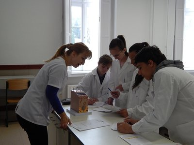 Laborórák a Lévay Laborban